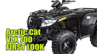 2. 2017 Arctic Cat VLX 700 First Look