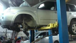 Nissan x trail ремонт своими руками