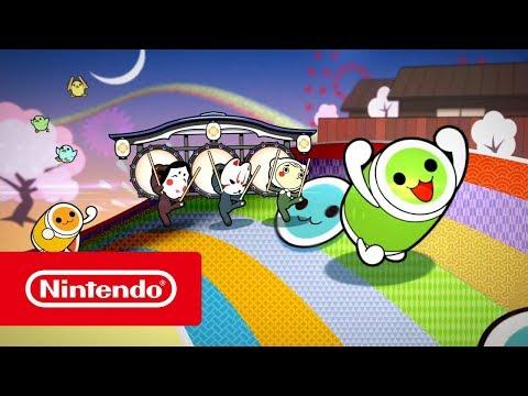 Taiko no Tatsujin Drum 'n' Fun! - Trailer (Nintendo Switch) (видео)