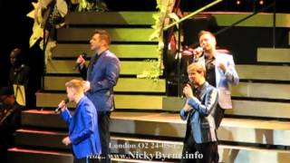 Westlife full queen of my heart london o2 24-05-12