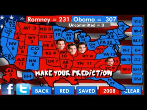 Video of POTUS Predictor 2012