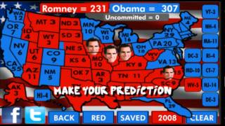 POTUS Predictor 2012 YouTube video