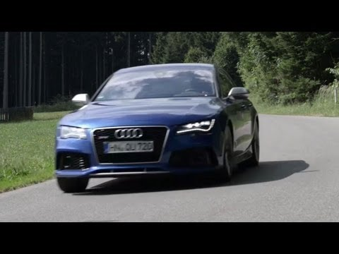 Audi RS7, Flat Out on the Autobahn – /DRIVEN
