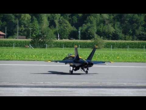 F4J R/C Blue Angel F/A-18 Hornet Team Hong Kong China JWM2013 (видео)