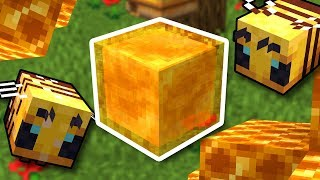 The New Honey Block Will Revolutionize Minecraft
