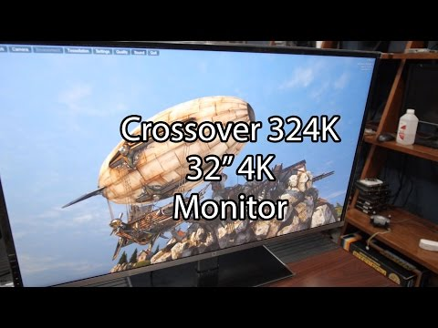 Crossover 324K 32 inch 4K Monitor Review