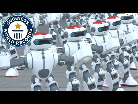 The New World Record For Most Robots Dancing In