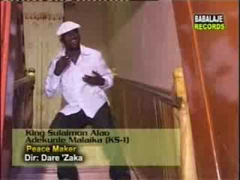 PEACEMAKER VIDEO ALBUM (2004) Side2. By King Sulaiman Alao Adekunle Malaika Alayeluwa