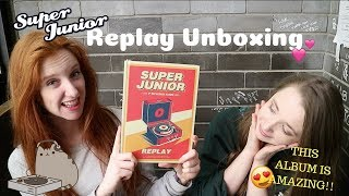 Unboxing Super Junior - Replay [8th Album Repackage]