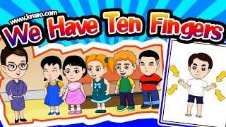 สื่อการเรียนการสอน We Have Ten Fingers ป.3 ภาษาอังกฤษ