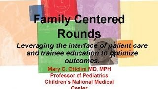 Grand Rounds Sept 14, 2011 | Children's National Medical Center