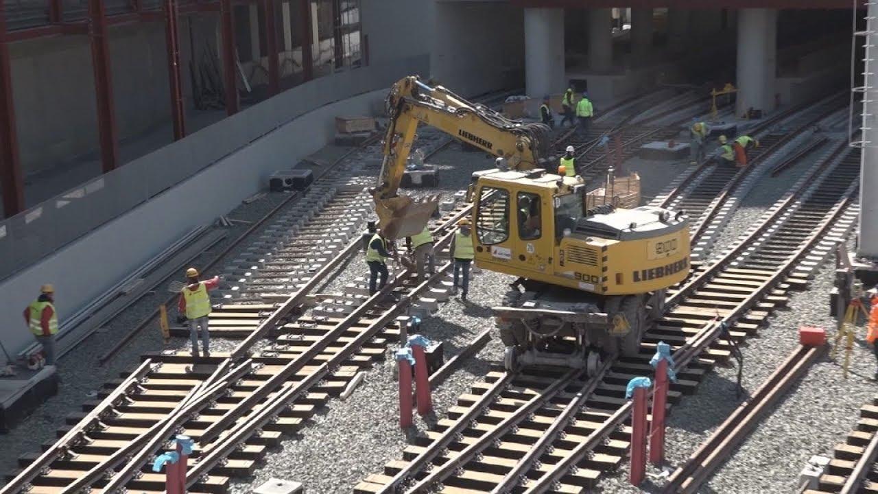 Στην τελική ευθεία είναι οι εργασίες κατασκευής του αμαξοστασίου του Μετρό Θεσσαλονίκης