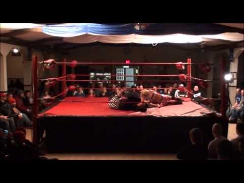 PWA Wrestling:  Clips of Jewells Malone vs. Gabriella Vanderpool title match (Feb 22/13)