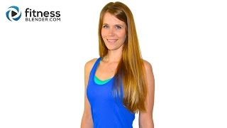 44 Minute Cardio, HIIT, Total Body Strength, Stretching and Abs Workout - FB Blend