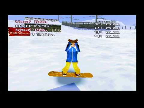TRICK'N SNOWBOARDER / jeu Playstation 1 - PS one / complet / PAL