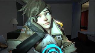 Tracer Googles Herself [SFM Overwatch]