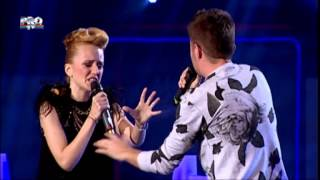 Eliza & Florian - Impossible (James Arthur) - Vocea Romaniei 2014 - Confruntari 3 - Editia 10