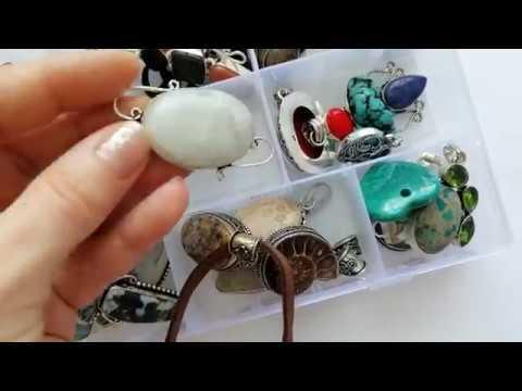 Gemstone Jewelry Collection / Part 1 - Pendants