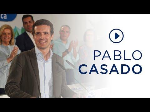 """Casado: """"Vamos a ganar en Andalucía porque tenemos el mejor candidato y el partido más fuerte"""""""