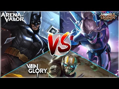 WHICH MOBA SHOULD I PLAY In 6 Minutes! Arena Of Valor, Mobile Legends & Vainglory Comparison
