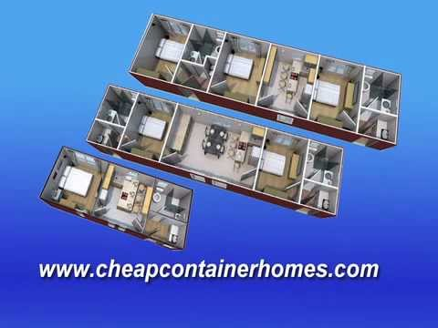 homes - http://www.cheapcontainerhomes.com.au 1, 2, 3, bed family container homes Cheap Container Homes, FREE furniture, FREE delivery, FREE generator http://youtu.b...