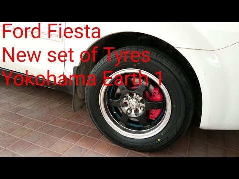 Yokohama Earth 1 | New Set of Tyres | Ford Fiesta