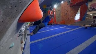 Nikken Is Having An Off Day This Bouldering Session! by Eric Karlsson Bouldering