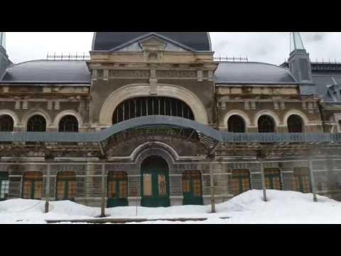 urban exploration - la stazione internazionale di canfranc in spagna