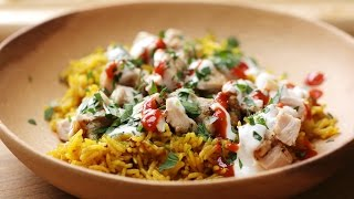 NYC Street Cart Style Chicken & Rice by Tasty