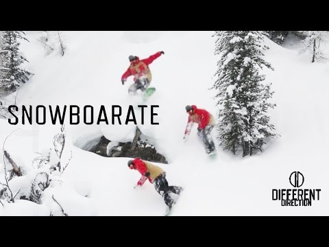 SNOWBOARATE | A Different Direction Film