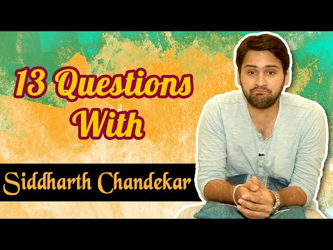 Top 13 Questions With Siddharth Chandekar | Lost & Found Marathi Movie | Classmates