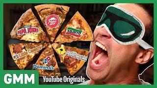Video Blind Fast Food Pizza Taste Test MP3, 3GP, MP4, WEBM, AVI, FLV April 2018