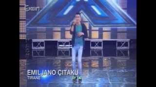 X Factor Albania 2 - 18 Nentor 2012 - Emiljano Citaku