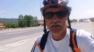 bisikletle bolu  gümüşova 30.04.2016