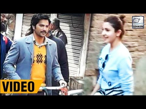 Varun Dhawan & Anushka Sharma On The Set Of Sui Dh
