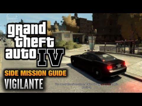 GTA 4 - Vigilante [Cleaned the Mean Streets Achievement / Trophy] (1080p)
