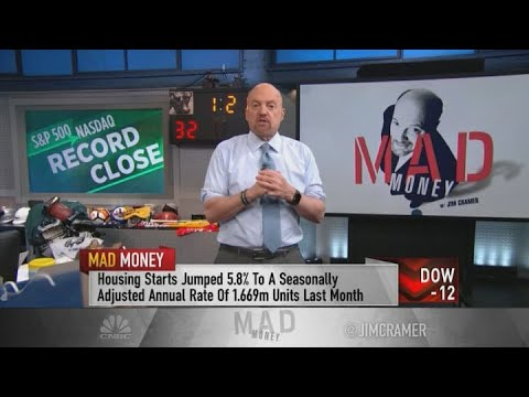 Jim Cramer: The strong U.S. housing market has been an economic bridge to Covid-19 vaccine