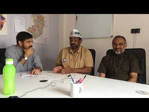 #KarnatakaPolls: AAP's Prithvi Reddy and Swaraj India's KP Singh in conversation with Newslaundry