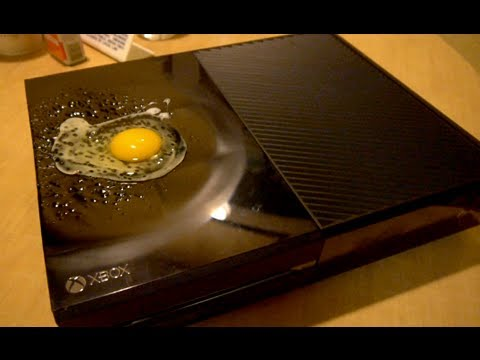 Xbox One Grill - Frying An Egg