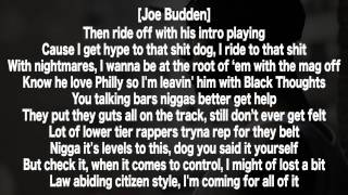 Joe Budden - Control (Lyrics HD) (Kendrick Lamar Response)