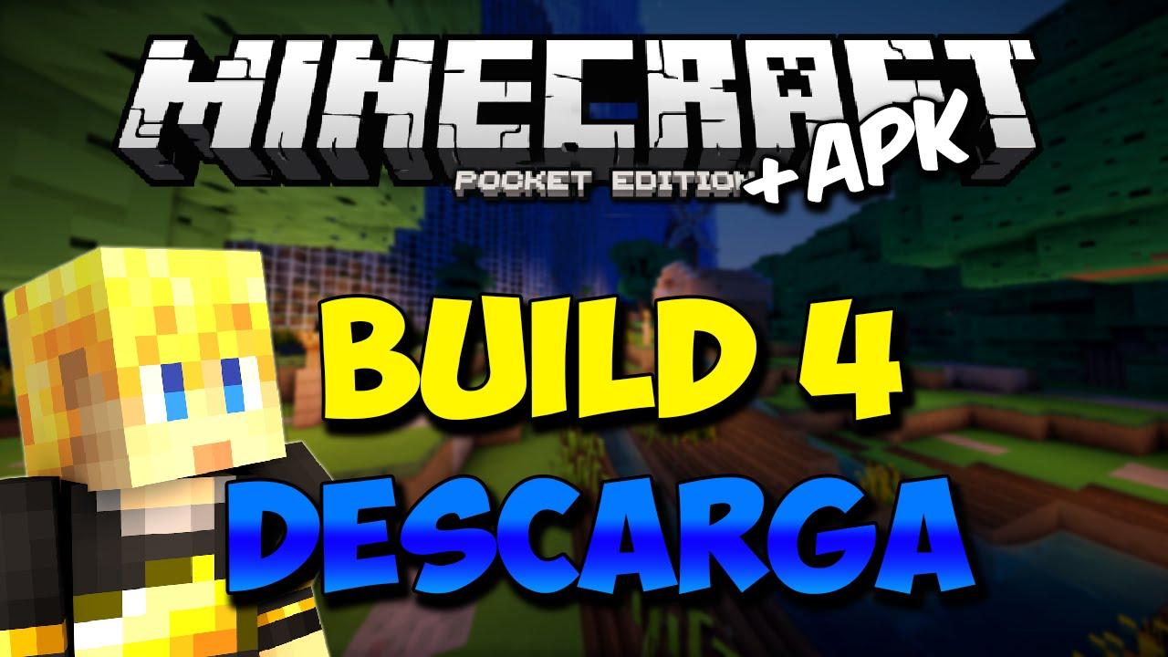 Descargar MINECRAFT PE 0.12.0 BUILD 4 DESCARGA – DOWNLOAD APK para Celular  #Android