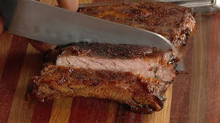 Try my Beer Glazed or Root Beer glazed BBQ ribs. They're simple and just down right good. There are hundreds of ways to do...