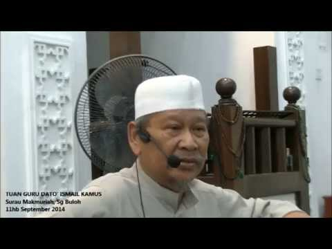 "Ustaz Ismail Kamus ""Tafsir Al-Fatihah"""