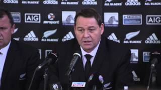 2015 All Blacks Squad Announcement - Steve Hansen  |  Rugby Championship Video Highlights