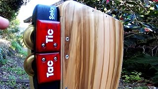 Cajon Tutorial: Jingle Attachments Videos 2