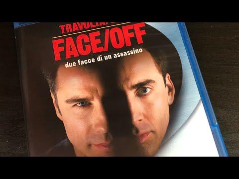 FACE/OFF Travolta/Cage Bluray Amaray