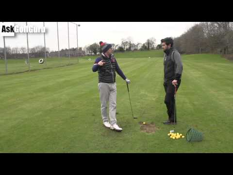 Golf Swing Lesson Over Draws
