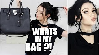 WHATS IN MY BAG!?   Kelsey Simone