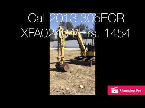 CATERPILLAR EXCAVADORAS DE CADENAS 305E CR equipment video ov8xTWY0oYM