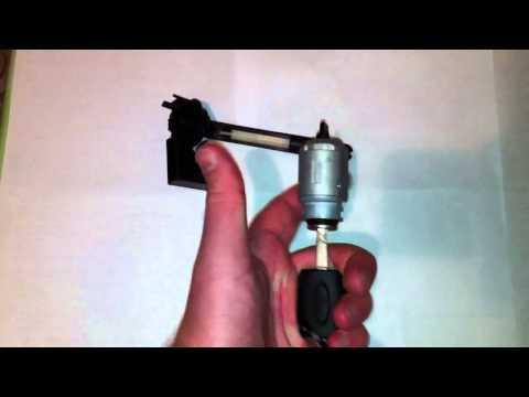 сборка личинки замка капота форд фокус 2
